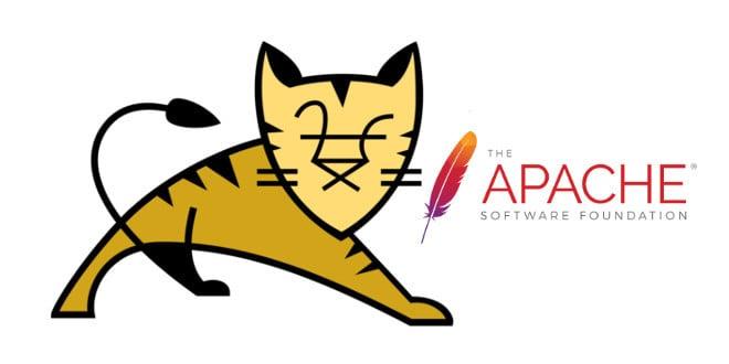 apache and tomcat logos