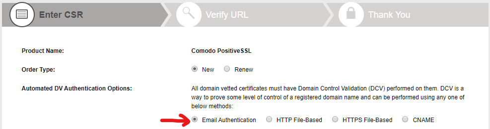 getssl dcv options