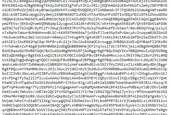 ssl certificate in PEM format
