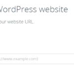 codeguard wordpress plugin add website