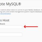cpanel remote mysql add hosts