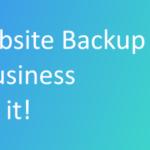 select website backup system header